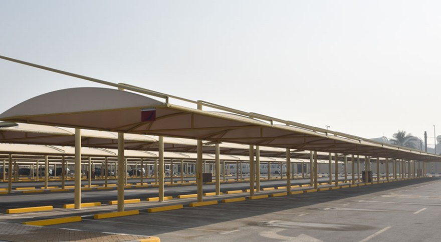 Car parking shade suppliers in Qatar - Qatar Yellow Pages - Yellowpages.qa