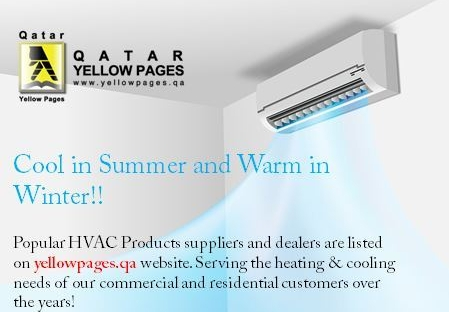 HVAC Products & Services in Qatar Yellowpages